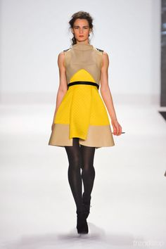 Project Runway quilted dress