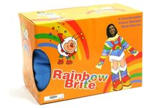 Rainbow Brite Body Cozy