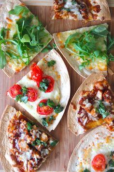 15 Tasty Ways to Upgrade Dorm Food via Brit + Co Quiches, Dorm Food, Tortilla Pizza, Yummy Food, Tasty, Weeknight Meals, Tortillas, A Food, Healthy Eating