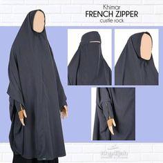 FRENCH ZIPPER Khimar  Charcoal  Rp255.000  French Zipper dari Khadijah Indonesia khimar khas French Jilbab nonpet lipit dilengkapi dengan niqab bandana  Material: twiscon  Detail size Depan /- 108cm Belakang /- 145cm Lingkar wajah /- 27cm  Order & Info WA 0821 1265 3240 BBM 588E8BFO LINE madinahcollection  #khadijahsisters #khimarKhadijah  #khadijahindonesia #dailykhimar #casualkhimar #helpysister #khimarantem #cadarbandana #hijabsyari #jilbabsyari #muslimahclothing #muslimah…