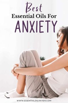 Suffering from stress and anxiety? Help your body and mind relax with these 5 best essential oils proven to ease stress and anxiety. Essential Oils For Anxiety, Best Essential Oils, Essential Oil Uses, Young Living Essential Oils, Stress And Anxiety Symptoms, Anxiety Help, Mind Relaxation, Ways To Be Happier, Heath And Fitness