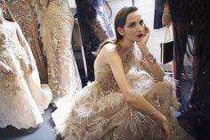 CR Fashion Book - BEHIND THE SCENES AT ELIE SAAB FALL 2016