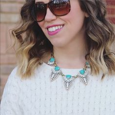 "OCEAN JEWELERS Statement Necklace This collar style necklace is made from finely crafted fashion metals. Length is 16"" with a 2"" extender—total of 18"". Ocean Jewelers Jewelry"