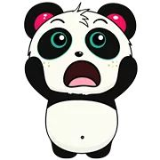 Pandi Facebook Sticker - Sticker Sort Panda Funny, Cartoon Panda, Panda Wallpapers, Panda Love, Funny Stickers, Spirit Animal, Colorful Backgrounds, Mickey Mouse, Hello Kitty