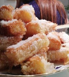 Greek Sweets, Finger Foods, Ethnic Recipes, Macaroni And Cheese, French Toast, Food And Drink, Candy, Cookies, Breakfast