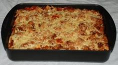 Switch out onion for green spring onion. Cooking this now :) Beef Pasta Bake recipe - Best Recipes