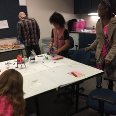 Grand Rapids Community College, Michigan State University and the Van Andel Institute hosted a Fall In Love with STEM event for middle school students.