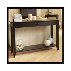 Wood-Console-Table-Sofa-Furniture-Display-Hallway-Storage-Drawer-Shelf-TV-Stand