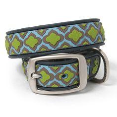 Is this girly?    Waterproof Mosaic Dog Collar