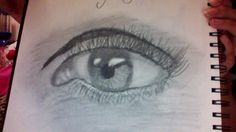 An eye I sketched today just 4 fun and I do #love sketching and drawing, oh and art #eye #sketch #draw #drawing #pencil #awesome #realistic #cool #tookforever #diditmyself #diy #mine #art #mytalent #talent #noonelikeme