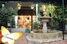 quevedoz Floral, Fountain, Patio, Outdoor Decor, Home Decor, Exhibitions, Museums, News, Decoration Home