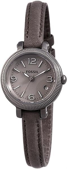Fossil Heather Mini Leather Watch - Grey ES3140, Disclosure Affiliate Link