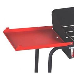 Folding Side Shelf Set for Two-Burners