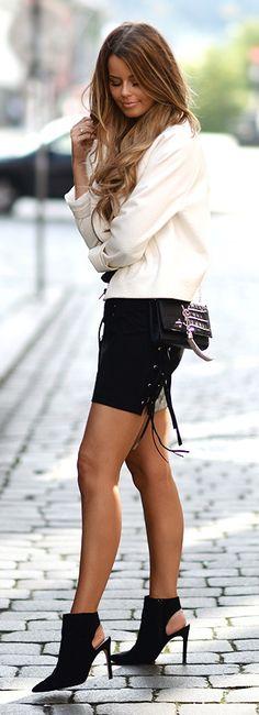 Jacket: H&M | T-shirt: ASOS | Bag: YSL | Shirt: Zara | Shoes: Zara