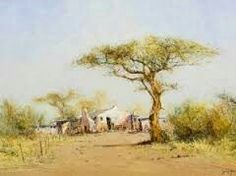 South African Art, Painting, Painting Art, Paintings, Painted Canvas, Drawings