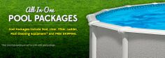 Now you do not need to buy all pool supplies separately you can select one of our pool packages. Because its the best way to save more money.