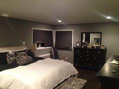 My zebra bedroom !!!