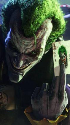 Show your support for the very unfriendly joker Le Joker Batman, Batman Joker Wallpaper, Joker Arkham, Der Joker, Joker Comic, Batman Artwork, Joker Wallpapers, Joker And Harley Quinn, Batman Hush