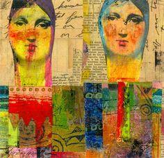 Original Artwork Mixed Media Collage by Lynneperrella on Etsy