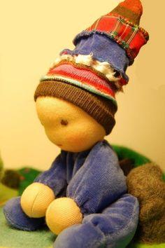 organic waldorf baby doll