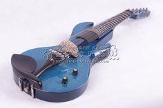 Electro-acoustic violin electronic violin mute electric violin