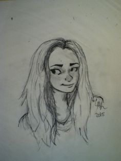My drawing of @persassy sorry it's bad :(