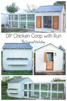 Chicken Coop Run, Diy Chicken Coop Plans, Chicken Coup, Chicken Garden, Chicken Life, Chicken Coop Designs, Backyard Chicken Coops, Building A Chicken Coop, Backyard Farming