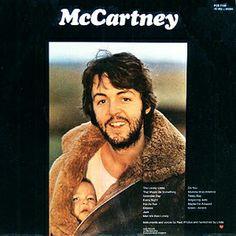 Paul McCartney, Album cover
