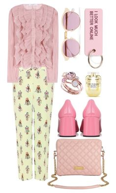 """""""Robots"""" by cherieaustin ❤ liked on Polyvore featuring Prada, Givenchy, Marc Jacobs, Ted Baker, Sheriff&Cherry, Various Projects and Victoria's Secret"""