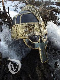 Vendel/Viking style helmet... Awesome!!!
