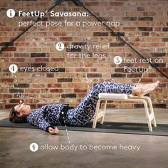 FeetUp® the Inversions Trainer for Yoga, Fitness and Relaxation Yoga Inversions, Yoga Handstand, Bikram Yoga, Ashtanga Yoga, Yoga Trainer, Yoga Lessons, Yoga Mom, Learn Yoga, Fun Workouts