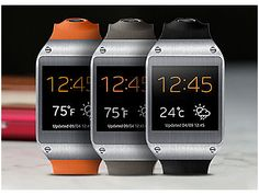 Add a Smart Companion Samsung Galaxy Gear™ (sold separately) is tech that you wear like a watch. It communicates with your Galaxy Note 3, providing a stylish and powerful way for you to see important notifications, as well as take phone calls, shoot photos and video and even count your steps.