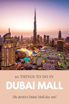 Dubai Mall is the biggest mall in the world! So when you are visiting Dubai, you NEED to visit Dubai Mall. It is a shopping heaven for both skint shoppers like me as luxury fasionistas. I love going to Dubai … Dubai Airport, Dubai City, Dubai Hotel, Dubai Mall, Dubai Guide, Dubai Travel Guide, Dubai Aquarium, Dubai Vacation, Stuff To Do