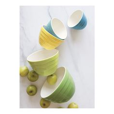 "5-Piece Parker 5.5""-9.5"" Bowl Set in Mixing Bowls 