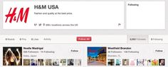 How H uses Facebook, Twitter, Pinterest and Google+ | Econsultancy