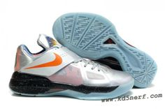 Nike Zoom KD 4(IV) Kevin Durant Shoes All-Star Silver