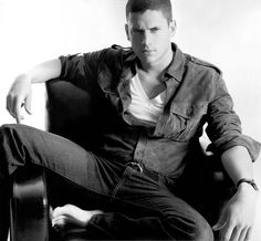 Wentworth Miller. How dare he be so good looking <3