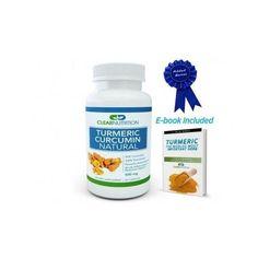 Cúrcuma Natural,Root Extract Powder-Powerful Anti-Inflammatory-Antioxidant.500mg #ClearNutrition