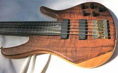 Zon bass fretless 5 string.