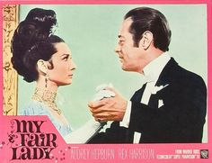 Audrey Hepburn looks AMAZING in this vintage movie poster for 'My Fair Lady' •ƒƒ•