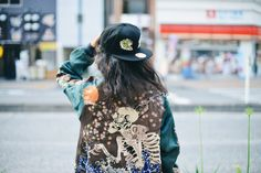 """Sukajan / """"Souvenir Bomber Jacket"""" : The Coolest Japanese Export of All Time - Japan Lover Me Store"""