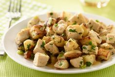 Turkey Hash Browns   #skillet #recipes #turkey #sides #hashbrowns #potatoes   http://www.jennieo.com/recipes/726-Turkey-Hash-Browns