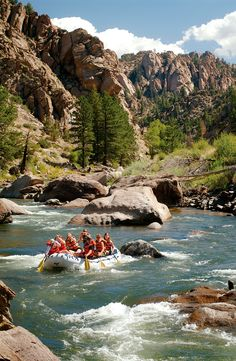 Get outside and get your blood pumping with these whitewater rafting adventures in the United States.