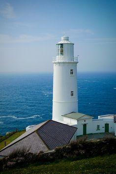 Trevose Head lighthouse, Cornwall.