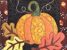 Большая подборка осеннего пэчворк-вдохновения - Ярмарка Мастеров - ручная работа, handmade