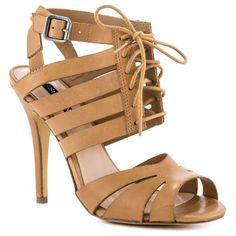 Shoemint Elzabth Tan Leather Women Shoes #prom
