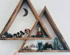 Image result for Hanging Macrame Wall Shelf