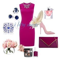 """loreana.sk"" by loreana9 on Polyvore featuring Ted Baker, Christian Louboutin, ALDO, Graff, Bling Jewelry, Essie, Lancôme, Bobbi Brown Cosmetics, Chanel and LSA International"
