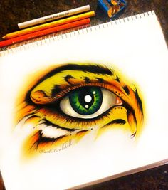 Eye have courage Original ART by michellecuriel on Etsy Pencil Art, Pencil Drawings, Art Drawings, Eyes Artwork, Realistic Eye Drawing, Anime Eyes, Eye Art, Art Plastique, Drawing Sketches