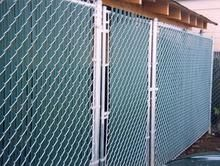 chain link fencing from commercial fencing to residential. Black vinyl chain link fencing and galvanized chain link fence fencing contractor Chain Link Fence Gate, Home Appliances, Fencing, Decorating, Black, Home Decor, House Appliances, Decor, Fences